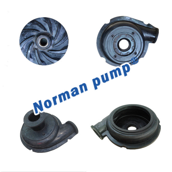 Rubber Pump Wear Parts